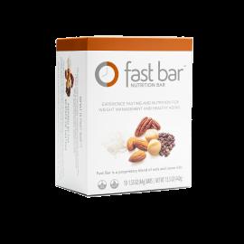 Fast Bars Nuts & Nibs  10-Pack - Single Box