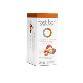 Fast Bars Nuts & Nibs  5-Pack - Single Box
